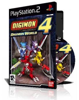 Digimon World 4 با کاور کامل و چاپ روی دیسک
