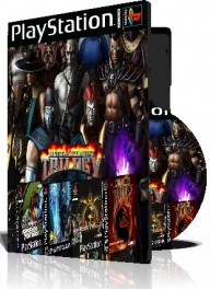 MK Trilogy چهارعدد بازی با قاب وچاپ روی دیسک
