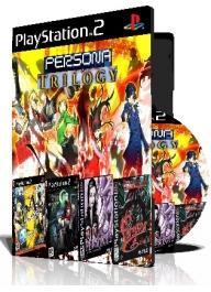 Persona Trilogy چهار عدد بازی با قاب وچاپ روی دیسک