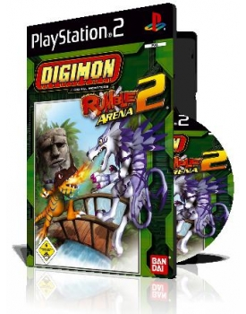 Digimon Rumble Arena 2 با کاور کامل و چاپ روی دیسک