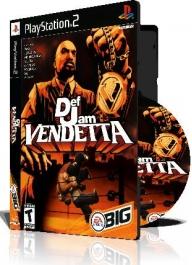 Def Jam Vendetta با کاور کامل و چاپ روی دیسک