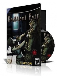 Resident Evil 1 با کاور کامل و چاپ روی دیسک