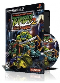 Teenage Mutant Ninja Turtles 2با کاور کامل و چاپ روی دیسک
