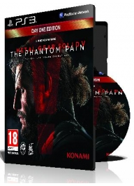 (Metal Gear Solid V The Phantom Pain CFW 4.75+(3 DVD