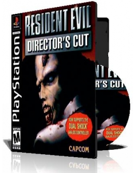 Resident Evil 1 Directors Cut DualShock Version ps1با کاور کامل و چاپ روی دیسک
