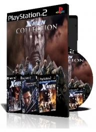 Xmen Collections سه عدد بازی با قاب وچاپ روی دیسک