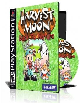 Harvest Moon Back to Nature با کاور کامل و قاب وچاپ روی دیسک  100% تست شده